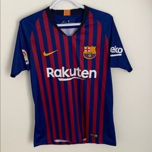 Authentic FC Barcelona Messi Jersey